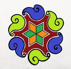 beautifull rangoli designs byone of our artist