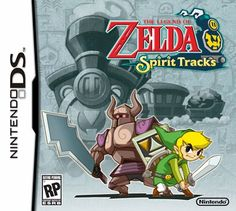 The Legend of Zelda: Spirit Tracks is an action/adventure game for the Nintendo DS and DSi that sets Link, the iconic hero of the Legend of Zelda series, on a daring new adventure. The game Nintendo Ds, Nintendo Games, The Legend Of Zelda, Ds Games, Games To Play, Games Box, Playstation, Xbox, Games