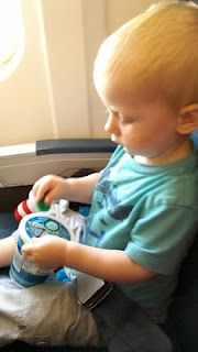 How to Survive a Flight Alone with a Toddler by Z is for Zel.
