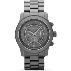 MICHAEL Michael Kors Men's Gunmetal watch
