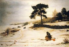 Blow, Blow Thou Winter Wind, John Everett Millais, 1892.