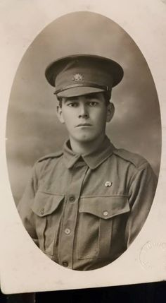 WYLIE, William Norman. Corporal, No. I 772, 52nd Battalion, transferred to 49th Batt. Born and educated at Maryborough. The son of Henry and Ellen Wylie, of Nth. and Coventry Streets, Maryborough. MDFHS Photo.