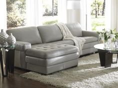 I would love to design around this sofa..Grey is suppose to be the new Nude.
