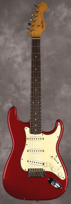Fender Stratocaster 1962 Candy Apple Red | Reverb