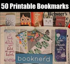 50 of the Cutest Free Printable Bookmarks Online Right Now | BookRiot.com