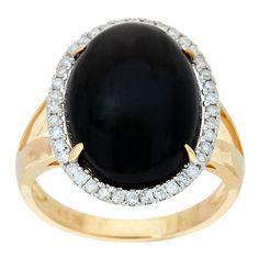 Oval Black Coral Diamond Ring 14K Gold, 1/5 cttw (9 980 ZAR) ❤ liked on Polyvore featuring jewelry, rings, gold ring, 14k ring, diamond jewelry, 14k diamond ring and 14 karat gold jewelry