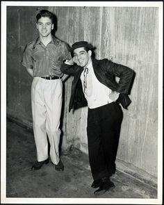 Burt Lancaster & Nick Cravat