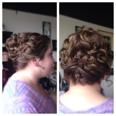 Creating an updo that's romantic, soft and great for any occasion