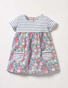 Hotchpotch Jersey Dress (Multi Vintage Floral)