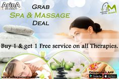 🌺Best Spa & Massage Offers in Chandigarh🌺  @bucksmonsterapp , offering you wonderful spa & massage services at very affordable rates. Special Offer-> Buy 1 Get 1 Free on All Therapies.
