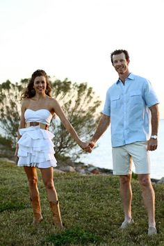 Taylor, I could see you wearing a sun dress and boots as one of the outfits for your engagement photo!