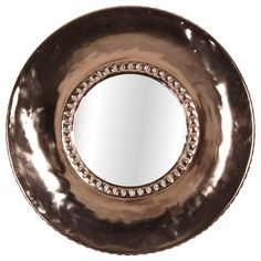 Miroir rond cuivré | KOTECAZ Copper Mirror, Style Vintage, Round Mirrors, Decoration, The Originals, Retro, Mirror Hanging, Mirror Bedroom, Retro Chic