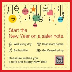 This New Year, add fire safety to your list of resolutions. Stay protected with Ceasefire's range of fire and safety solutions.