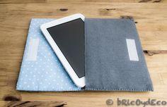 Funda DIY para tablet en 10 pasos en www.bricoydeco.com