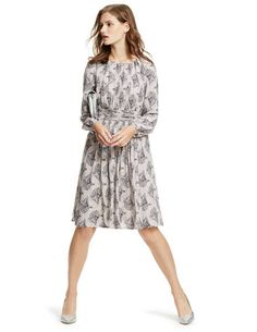 Long Sleeve Selina Dress WH798 Dresses at Boden