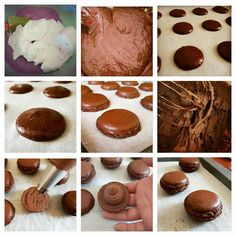 BISCOTTO MACARONS CACAO ricetta facile | Cucinare è come amare Macarons, Cacao, Biscotti, Cookies, Chocolate, Desserts, Recipes, Food, Gourmet