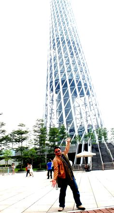 Canton Tower....one of the tallest building in the world, after Skytree Japan