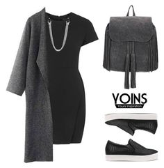 """YOINS"" by baludna ❤ liked on Polyvore featuring Topshop, women's clothing, women, female, woman, misses, juniors and yoins"