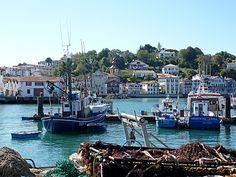 Saint Jean de Luz Basque country, Aquitaine FRANCE pais vasco, francia