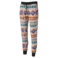 Almost Famous Patterned Jogger Pants - Juniors