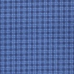 Cotton Quilt Fabric The Cranston Collection navy plaid by the yard by aBirdOnMyHead