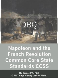 This DBQ topic looks at whether Napoleon was a Son of or a Tyrant to the French Revolution and created for secondary, world history classrooms. History Lesson Plans, Social Studies Lesson Plans, World History Lessons, Social Studies Classroom, Teaching History, School Classroom, History Education, History Projects, French Politics