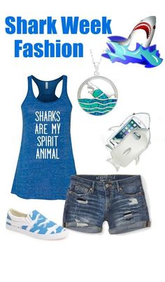 We've gathered our favorite ideas for Best Shark Week Fashion And Accessories Love This Chang, Explore our list of popular images of Best Shark Week Fashion And Accessories Love This Chang in shark week fashion. Shark Clothes, Save The Sharks, Shark Bait, Summer Outfits, Cute Outfits, Great White Shark, Shark Week, My Spirit Animal, Silhouette