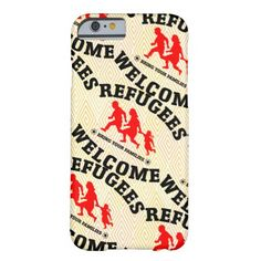 Refugees Welcome Bring Your Family iPhone 6 Case #refugees #refugeeswelcome #refugeecrisis