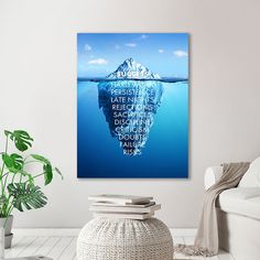 Canvas Home, Canvas Wall Art, Canvas Prints, Motivation Wall, Nordic Art, Decorating With Pictures, Art Pages, Modern Wall Art, Colorful Pictures