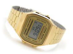 Casio Vintage Retro Gold Digital Illuminator Watch A168 A168WGA A168WG 9W | eBay