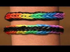 Rainbow Loom Nederlands - Cross Quadfish || Loom bands, rainbow loom, tutorial, how to - YouTube