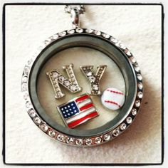 New York baseball! (South Hill Designs) www.creativecreationscharms.com