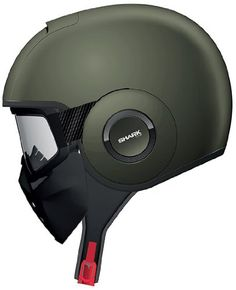 Shark Raw Solid Full Face Motorcycle Helmet - Matte Green (Large) http://amzn.to/1rS15Vl #motorcycle #helmet #awesome http://motorcyclehelmets.co.nf/shark-raw-solid-full-face-motorcycle-helmet-matte-green-large/