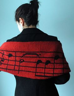 Ravelry: Stacy's Musical Scarf pattern by Kalliopi Aronis