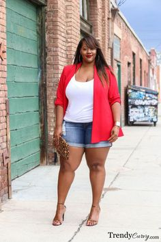nice Trendy Curvy - Plus Size Fashion Blog by http://www.dezdemonfashiontrends.xyz/plus-sizes-fashion/trendy-curvy-plus-size-fashion-blog/