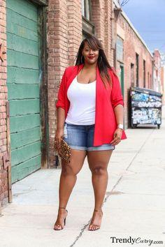 nice Trendy Curvy - Plus Size Fashion Blog by http://www.dezdemonfashiontrends.xyz/plus-sizes-fashion/trendy-curvy-plus-size-fashion-blog/