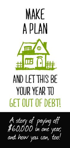 How we paid of $60,000 of debt in one year (and you can, too!)