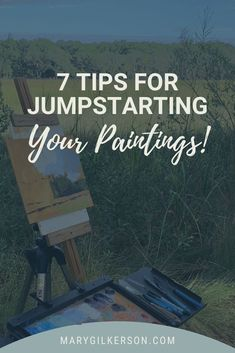 Set you self up for creative success with these artists tips on painting . You'll cover mixing paint, notans, composition, value, and so much more! Save this pin and Click through to get the tips!