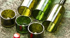 How to cut Wine Bottles Video
