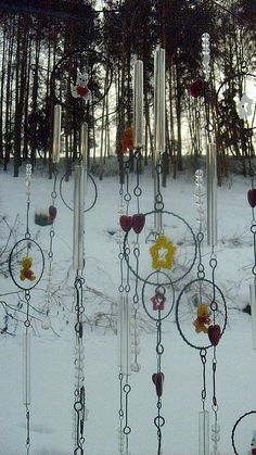 Wind chime by kateblues, via Flickr