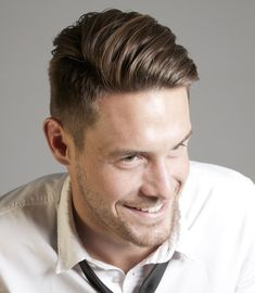Popular Mens Hairstyles 2015 mens hairstyles 20152016 Mens Haircuts Short At The Sides Long On Top Awesome Mens Short