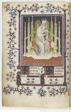 Psautier de Jean de Berry. [Paris, BnF, MSS Français 13091]. French National Library, Public Domain