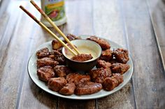 #ad Ready to eat Tyson's Deli Wings with Sesame Soy Ginger Dipping Sauce  #GameTimeHero #shop