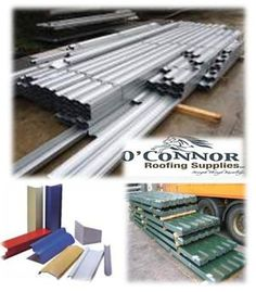 O'Connor Roofing stocks a huge collection of tile effect sheeting materials and other roofing supplies for all types agricultural, domestic and industrial applications in Ireland at very reasonable prices.