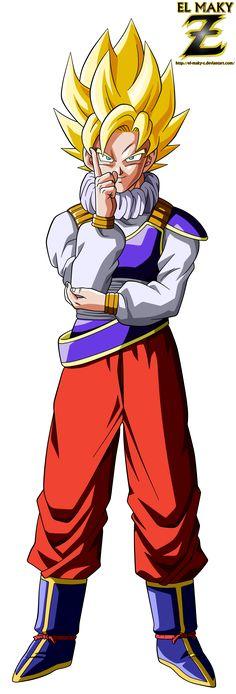 Goku Super Saiyan (Yardrat Clothes) by el-maky-z.deviantart.com on @DeviantArt