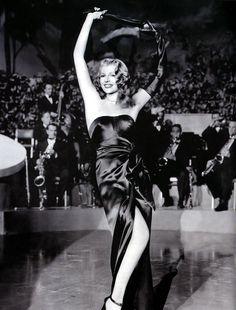 Rita Hayworth at her best <3  I adore you soooo much, Rita! :D You have no idea...