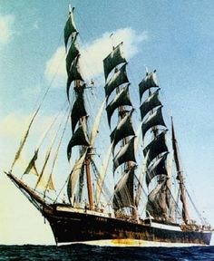 "Four-masted barque ""Pamir"""