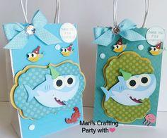 Baby Shark goody bags/ Baby Shark favor bags/ Baby Shark by mariscraftingparty on Etsy Shark Party Favors, Party Favor Bags, Goodie Bags, Favor Boxes, Kids Birthday Themes, Happy 2nd Birthday, 3rd Birthday Parties, Baby Shower Centerpieces, Baby Shower Decorations