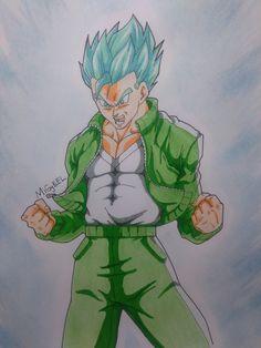 Gohan Super saiyan God Super saiyan from dragon ball super