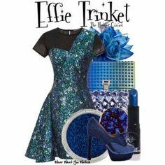 Aqua prom outfit